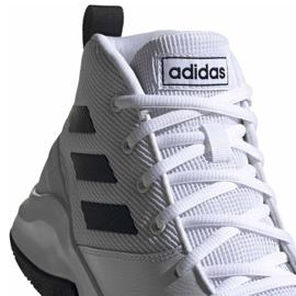 Basketbalové boty adidas Ownthegame M EE9631 bílá bílá 2