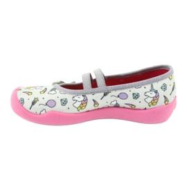 Dětská obuv Befado 116X266 růžový šedá 2