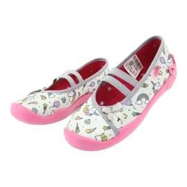 Dětská obuv Befado 116X266 růžový šedá 3