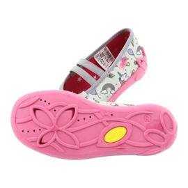 Dětská obuv Befado 116X266 růžový šedá 5