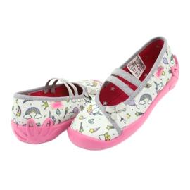 Dětská obuv Befado 116X266 růžový šedá 4