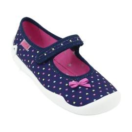 Dětská obuv Befado 114Y372 srdce 1