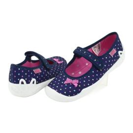 Dětská obuv Befado 114Y372 srdce 4