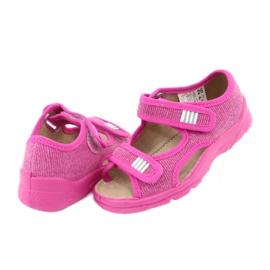 Befado dětské boty 113X009 růžový 4