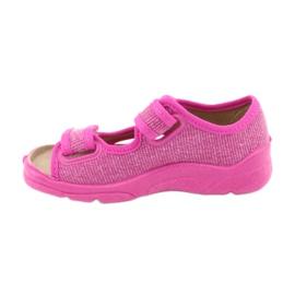 Befado dětské boty 113X009 růžový 2