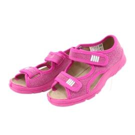 Befado dětské boty 113X009 růžový 3