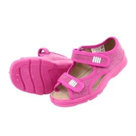 Befado dětské boty 113X009 růžový 5