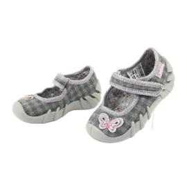 Dětská obuv Befado 109P189 šedá 3