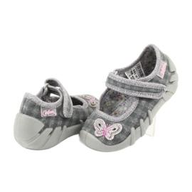 Dětská obuv Befado 109P189 šedá 4