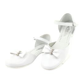 Zdvořilostní baletky Communion Miko 671 bílá 3