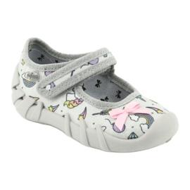 Dětská obuv Befado 109P199 šedá vícebarevný 1