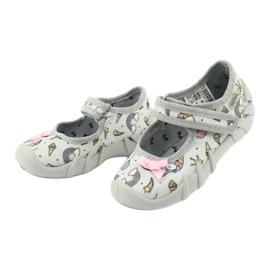 Dětská obuv Befado 109P199 šedá vícebarevný 3