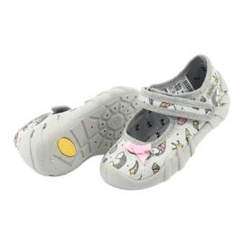 Dětská obuv Befado 109P199 šedá vícebarevný 5