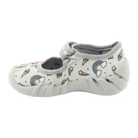 Dětská obuv Befado 109P199 šedá vícebarevný 2