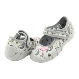 Dětská obuv Befado 109P199 šedá vícebarevný 4