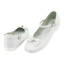 Baleríny White Miko 806 bílá šedá 2