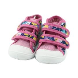 Befado oranžové dětské boty 212P064 5