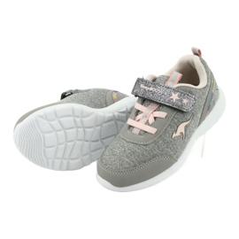 Lehké šedé tenisky KangaROOS 02051 5