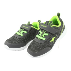 Lehká sportovní obuv KangaROOS 02050 šedá 3