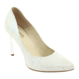 Espinto 456/96 dámské boty bílé bílá vícebarevný 1
