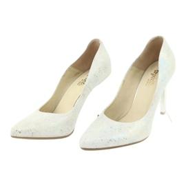 Espinto 456/96 dámské boty bílé bílá vícebarevný 3