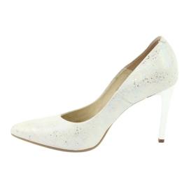 Espinto 456/96 dámské boty bílé bílá vícebarevný 2