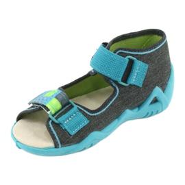 Befado žluté dětské boty 350P006 2