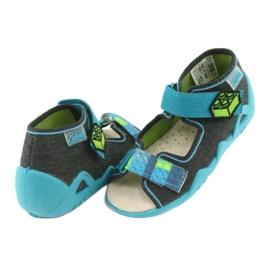 Befado žluté dětské boty 350P006 4