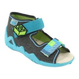 Befado žluté dětské boty 350P006 1