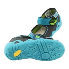 Befado žluté dětské boty 350P006 5