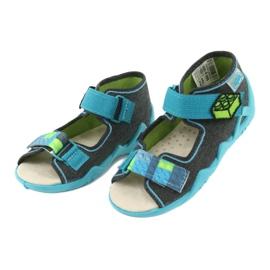 Befado žluté dětské boty 350P006 3