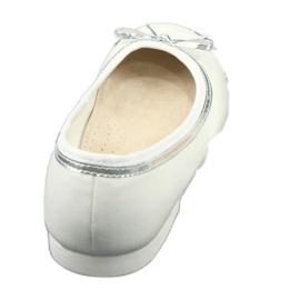 American Club Baleríny s lukem, bílý perlový americký klub GC29 / 19 bílá vícebarevný 3