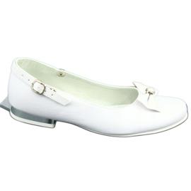 Baleríny White Miko 806 bílá šedá 4