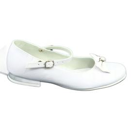 Baleríny White Miko 806 bílá šedá 5