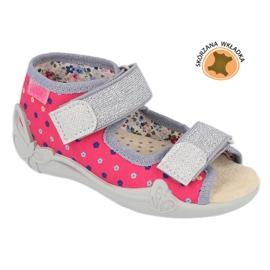 Befado žlutá dětská obuv 342P008 1