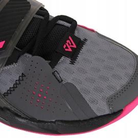 Nike Jordan Proč ne Zero M CD3003 003 boty šedá černá, růžová, šedá / stříbrná 1