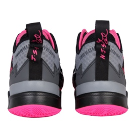 Nike Jordan Proč ne Zero M CD3003 003 boty šedá černá, růžová, šedá / stříbrná 3