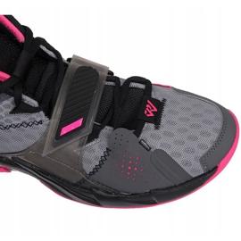Nike Jordan Proč ne Zero M CD3003 003 boty šedá černá, růžová, šedá / stříbrná 5