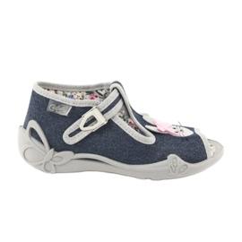 Dětská obuv Befado 213P119 šedá 1