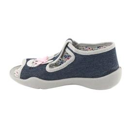 Dětská obuv Befado 213P119 šedá 3
