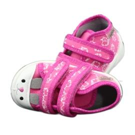 Befado oranžové dětské boty 212P066 růžový 9