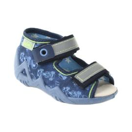 Befado žluté dětské boty 350P011 2