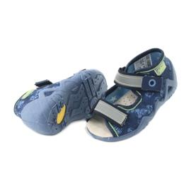 Befado žluté dětské boty 350P011 5