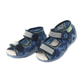 Befado žluté dětské boty 350P011 4
