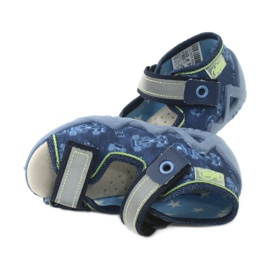 Befado žluté dětské boty 350P011 6