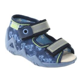 Befado žluté dětské boty 350P011 1