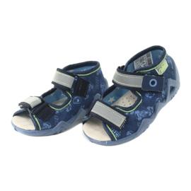 Befado žluté dětské boty 350P011 3