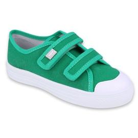Dětská obuv Befado 440X013 zelená 1