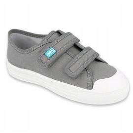 Dětská obuv Befado 440X014 šedá 1