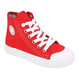 Dětská obuv Befado 438X011 červená 1